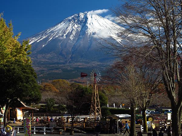 頻繁に目にする富士山