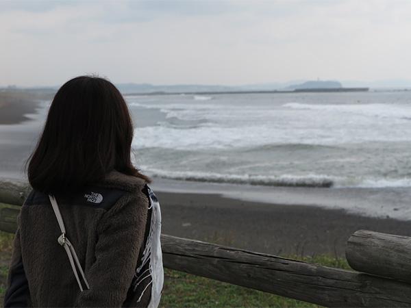 ここはほんとに海のそば