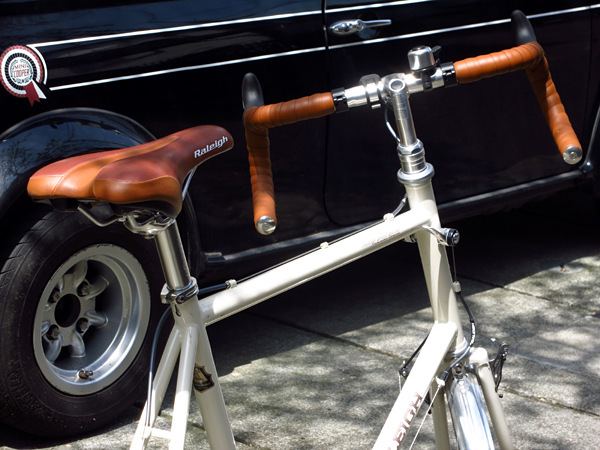 ひさびさの自転車