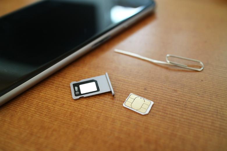 SIMカードセット
