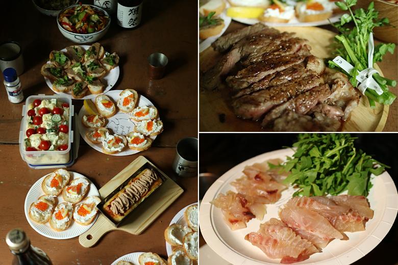 豪華料理の数々