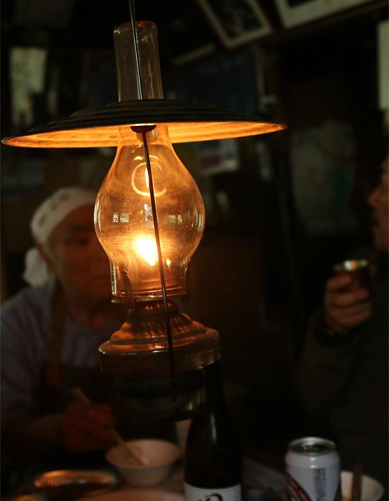 ランプと、ランプの宿の主